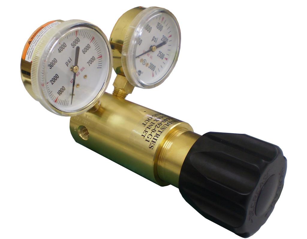 high pressure regulator side